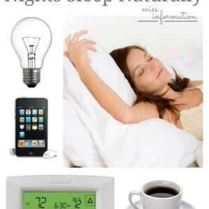 How to Get a Good Night Sleep Naturally and a Mattress Giveaway! - Miss Information Blog