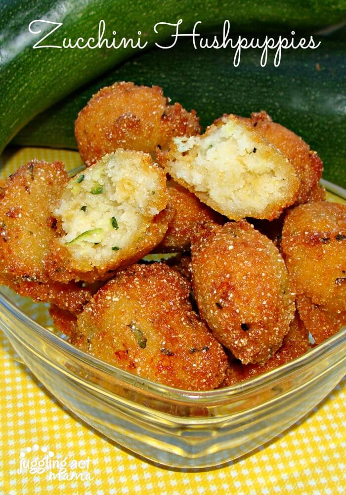 These Zucchini Hushpuppies from Juggling Act Mama are an easy way to get your family to eat their veggies!