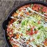 Skillet Enchilada Casserole