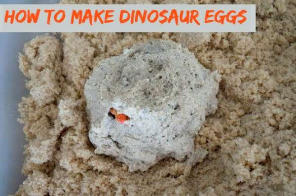 With just a few ingredients from your pantry make these fun dinosaur eggs and send your kids on an excavation