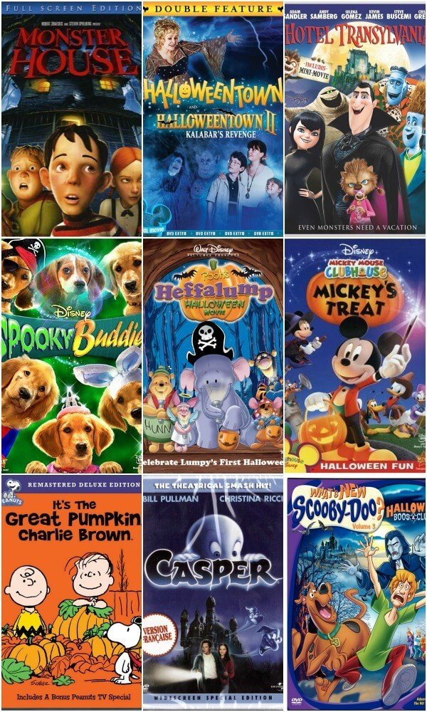 Best Kids' Halloween Movies | Miss Information
