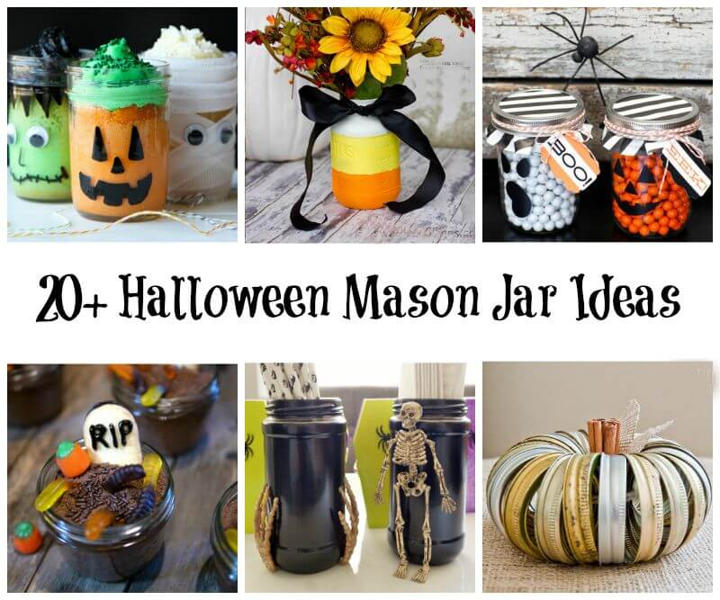 Halloween Mason Jar Ideas To Make Yourself Miss Information