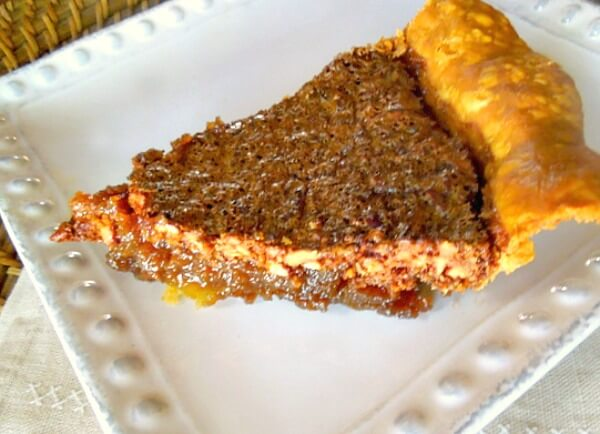 Traditional Pecan Pie made the southern way with Karo syrup it's the perfect Thanksgiving Pie