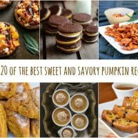 Over 20 delicious pumpkin recipes both sweet and savory for a fun fall
