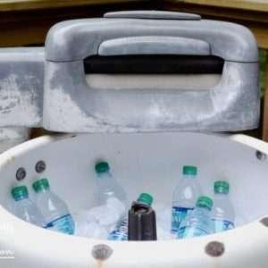 Vintage Washing Machine Cooler