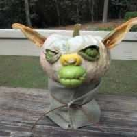 Make a Yoda Pumpkin - Miss Information