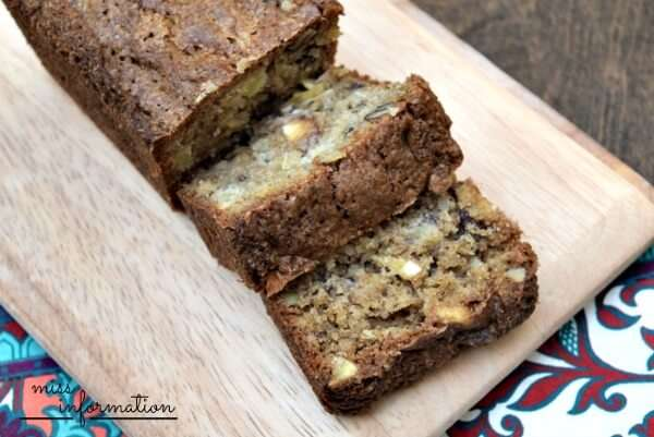 A great alternative to banana or pumpkin bread at the holidays. Filled with nuts, pineapple, coconut, and bananas it's perfect to make ahead and freeze