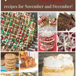 Over 40 of the best holiday baking recipes for November and December!