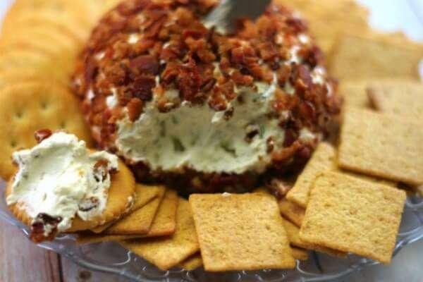 bacon ranch cheese ball 1