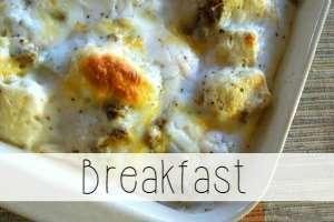 breakfast recipe index