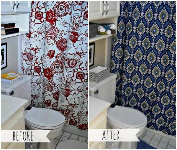 DIY Budget Bathroom redo for less than $40