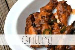 grilling recipe index
