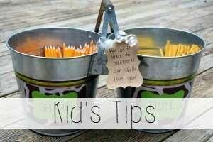 kid's tips