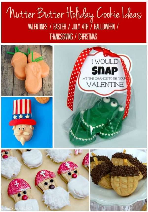 nutter butter cookie decorating ideas for every major holiday valentines easter 4th of