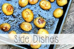side dishes recipe index