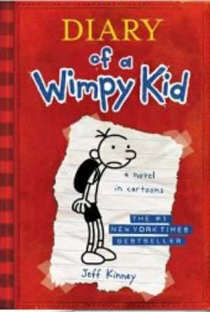 Diary of a Wimpy Kid  is a favorite of my sons and is Included in this list of 10 best book series for tweens!