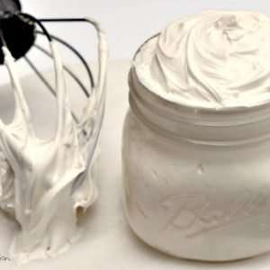 Easy Homemade Cream Cheese Icing, so much better than store bought! Pin it to use with your favorite cake recipe!
