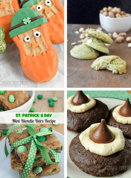 Yummy St. Patrick's Day cookie recipes!