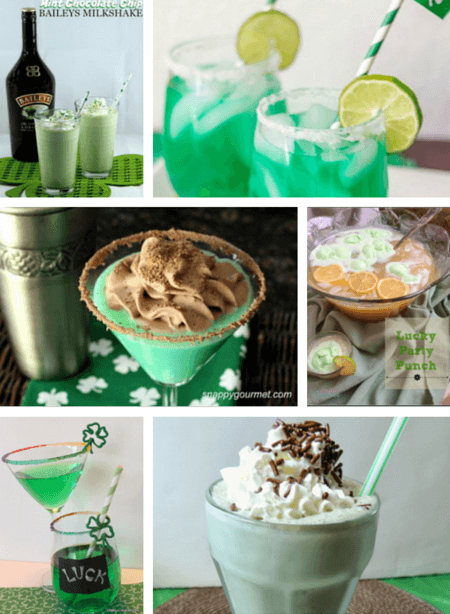 Six fabulous recipes to help you get your St. Patrick's Day drink on!