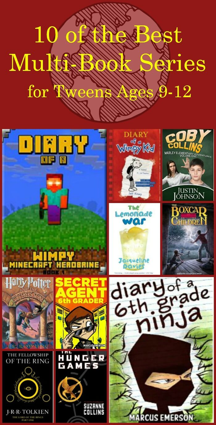 Best Books for Tweens ages 9-12 | Miss Information