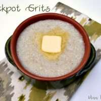 Cook grits in your crockpot for the creamy smooth grits everytime!