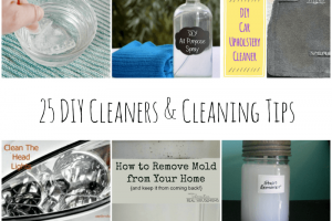 25 DIY Cleaners and Cleaning Tips