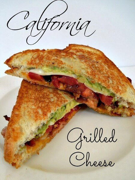 California Grilled Cheese Sandwich Recipe | Miss Information