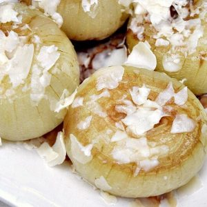 OMG! These grilled french onions taste just like French Onion Soup and are so easy to make!!! Pin it to Grill it!