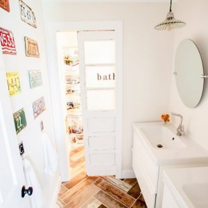 Heathered Nest Kids Vintage Transportation Inspired bathroom...check it out!