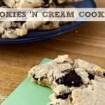 Oreo Cookies and Cream Cookies