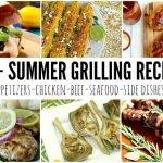 55+ Grilling Recipes