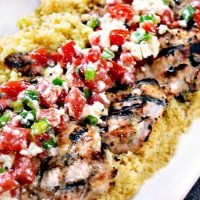 Grilled Greek Yogurt Chicken