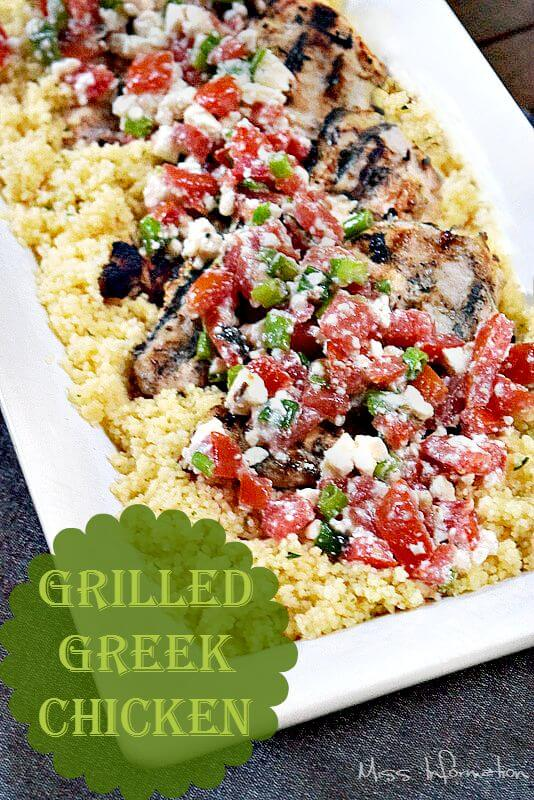 Greek Yogurt Chicken is moist and juicy and the best grilled chicken recipe you've ever tasted!