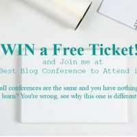 Win a free ticket to the best blog conference of 2015!