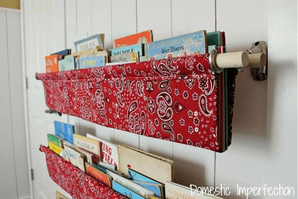 Fabric Book Storage Slings