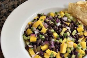 Black Bean and Mango Salad Recipe Perfect as a Side or a Dip