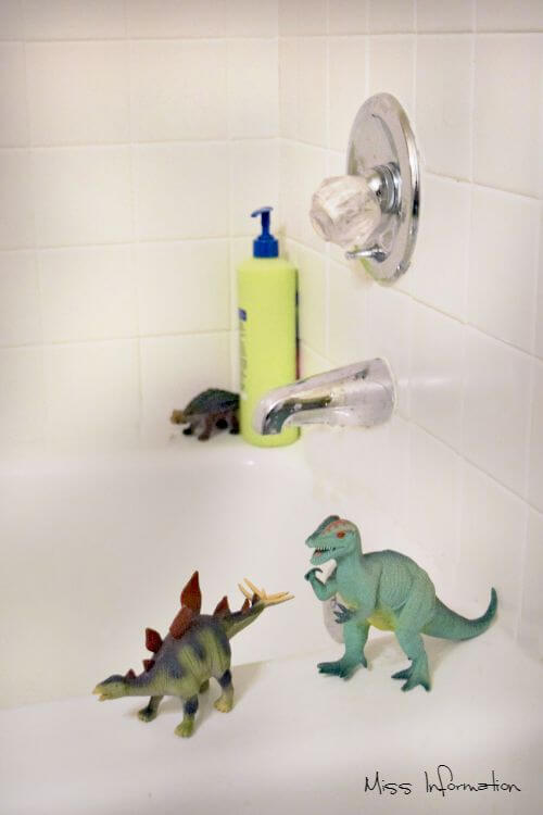 Bathrooms are meant to be forgotten but what do your toys think after you leave?
