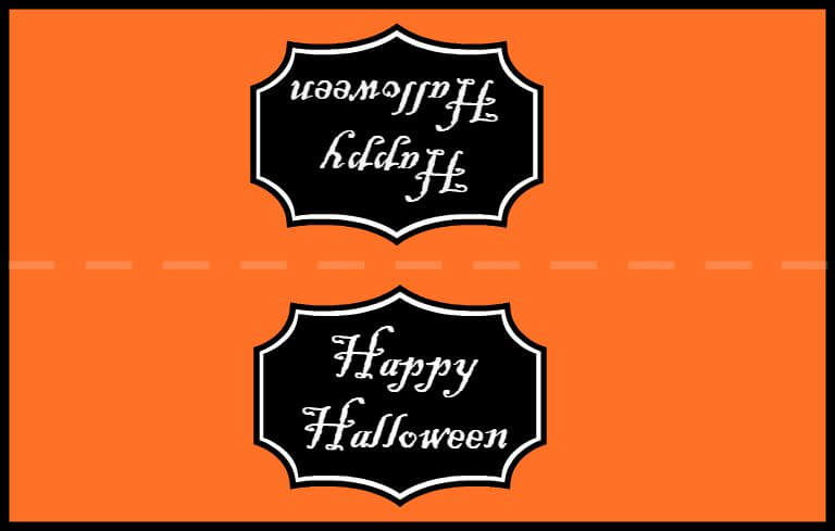 Free Printable Halloween Treat Bag Topper