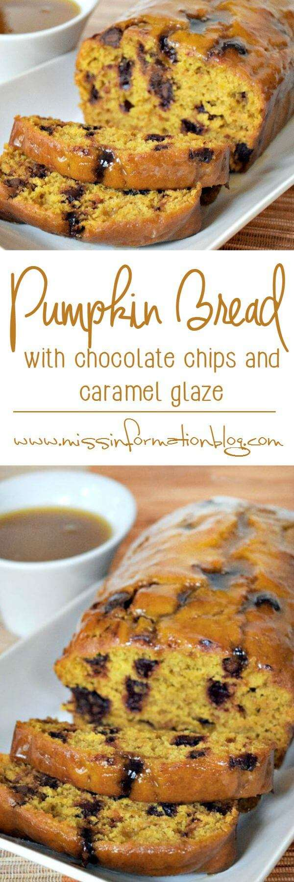 Easy Chocolate Chip Pumpkin Bread Recipe | Miss Information