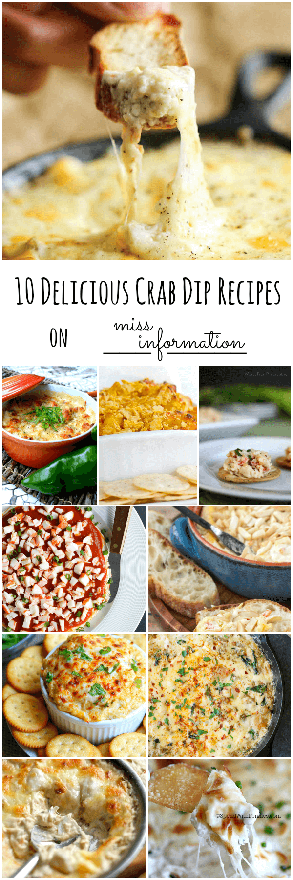 10 mouth watering crab dip recipes that will have you begging for more!