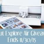 Craft Your Way to Christmas with a Cricut Explore Air Giveaway!