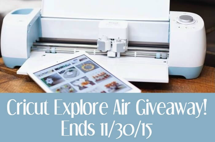 Cricut Explore Air Giveaway | Miss Information