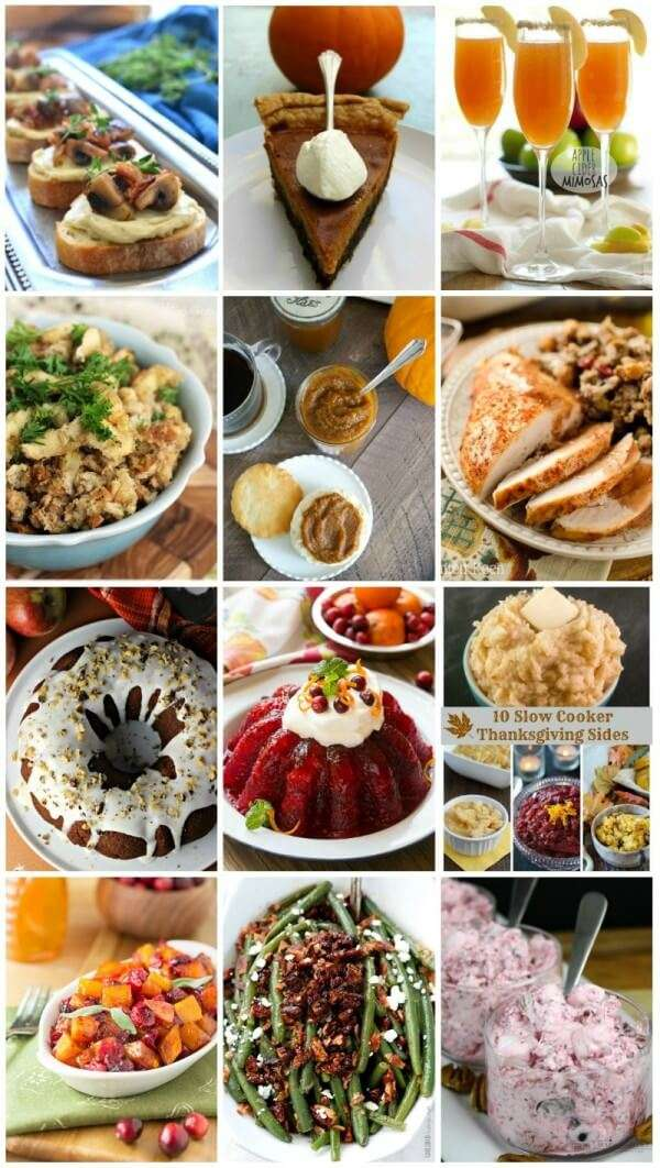 Thanksgiving Entertaining 35 of the best recipes for thanksgiving and christmas