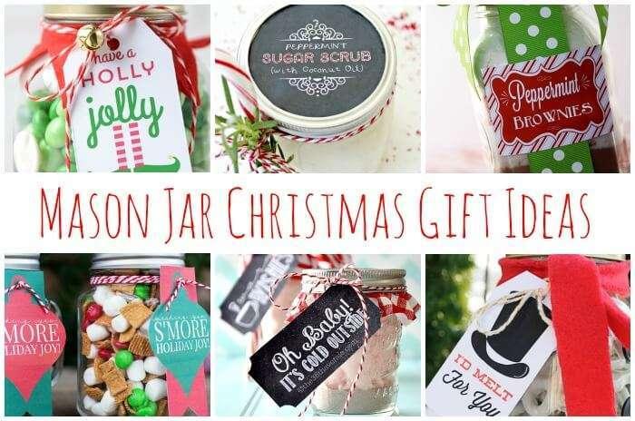 20 Mason Jar Christmas Gifts