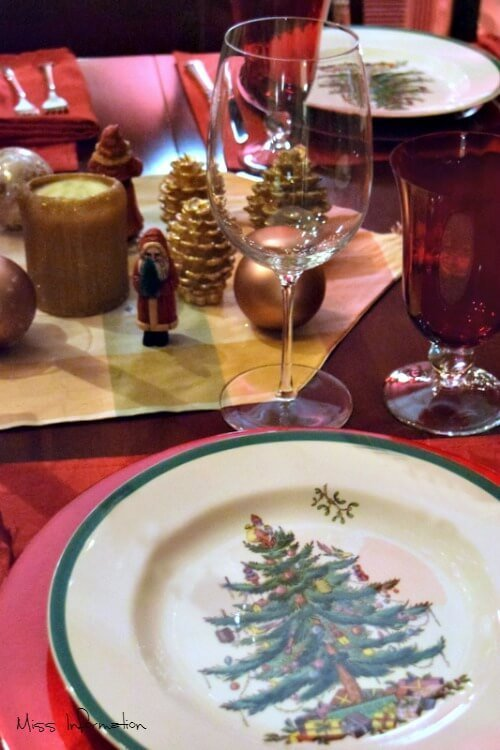 Auden Stemware from Libbey Christmas table