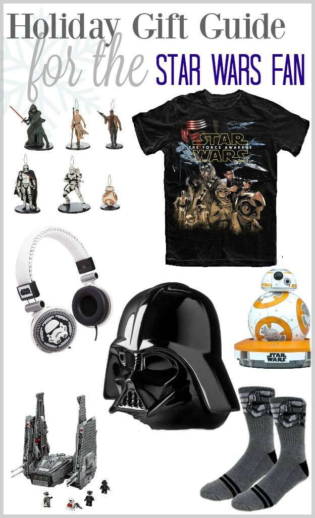 The ultimate gift guide for your Star Wars Fan!