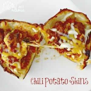 These Chili Potato Skins are out of this world!