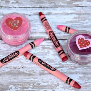 Make your own lip balm with crayons and one other ingredient!