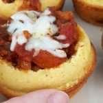 Chili and Cheddar Cups Corn Muffin Recipe