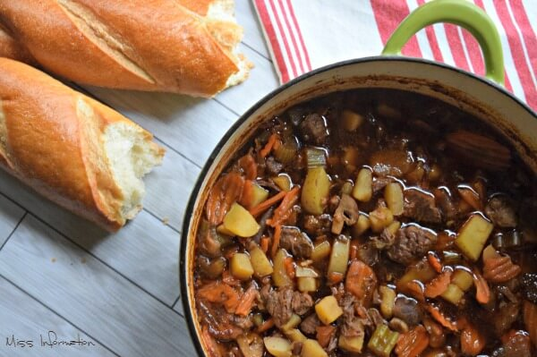Easy Irish Beef Stew Recipe is hearty and satisfying It's perfect for any time of year..